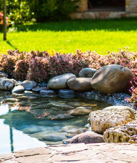 Exterior Images Residential Water Features